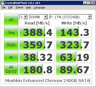 mushkin enhanced chronos 240GB SATA